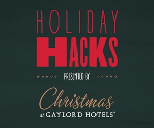 Gaylord Hotels Holiday Hacks logo