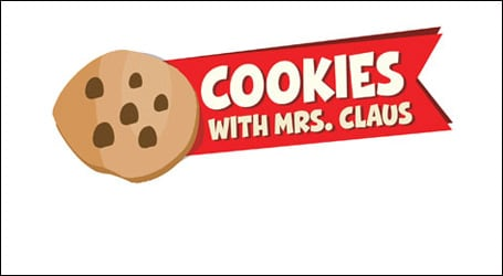 link to purchase tickets to Cookies with Mrs Claus