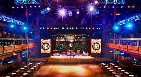 WIldhorse Saloon stage in Downtown Nashville, TN