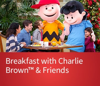 Purchase Tickets for Breakfast with Charlie Brown™ & Friends