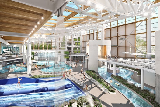 Flowrider, WaterSlides, Lazy River inside Gaylord Opryland Resort