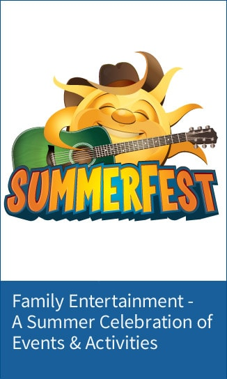 SummerFest at Gaylord Opryland - Sun logo with Guita - link for detals