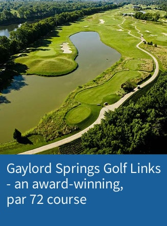 Link to Gaylord Springs golf page