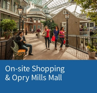 Link to Gaylord Opryland's Shopping page