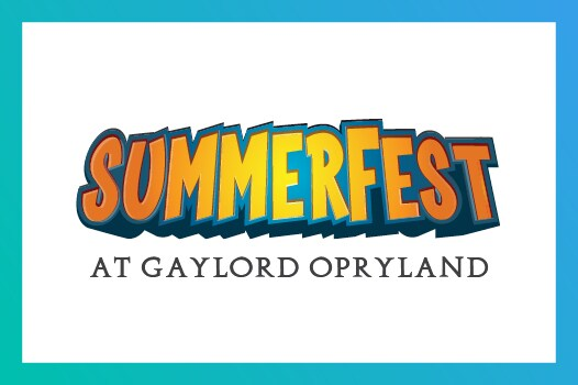 SummerFest at Gaylord Opryland logo
