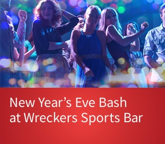 Three Women Dancing at club - Gaylord Palms New Year's Eve Bash - link for details