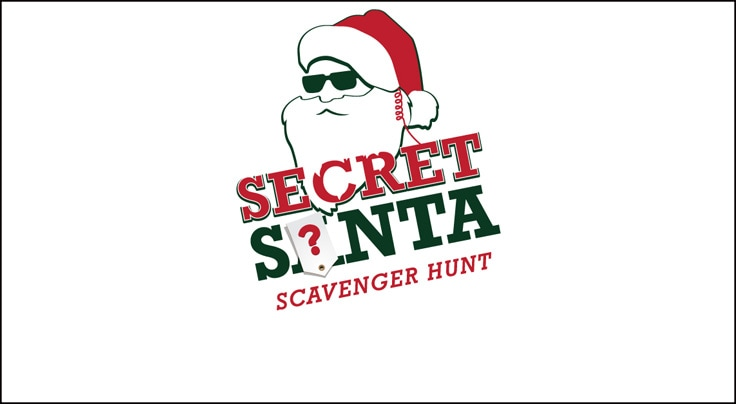 Secret Santa Scavener Hunt Logo