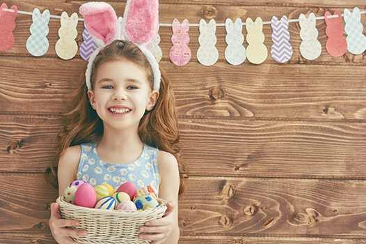 Girl with rabbit ears - Easter Eggstavaganza at Gaylord Palms
