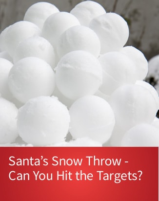 Purchase Tickets for Santa's Snow Throw