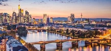 Skyline Frankfurt am Main, Deutschland