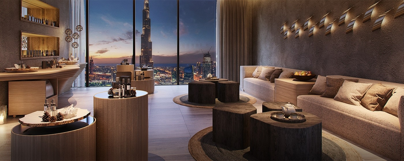 Renaissance Downtown Hotel, Dubai, United Arab Emirates, Six Senses Spa - Reception