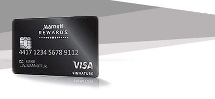 Image of the Marriott Rewards Credit Card