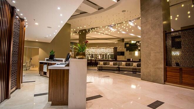 Lobby de un nuevo hotel