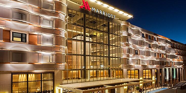 Exterior of Madrid Marriott Auditorium Hotel & Conference Center