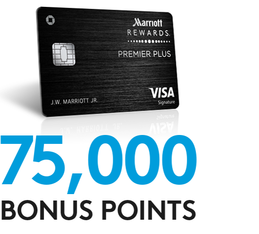 Earn 75K points with the Marriott Rewards Premier Plus Credit Card