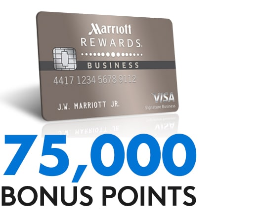 Earn 75,000 bonus points with the Marriott Rewards Premier Credit Card