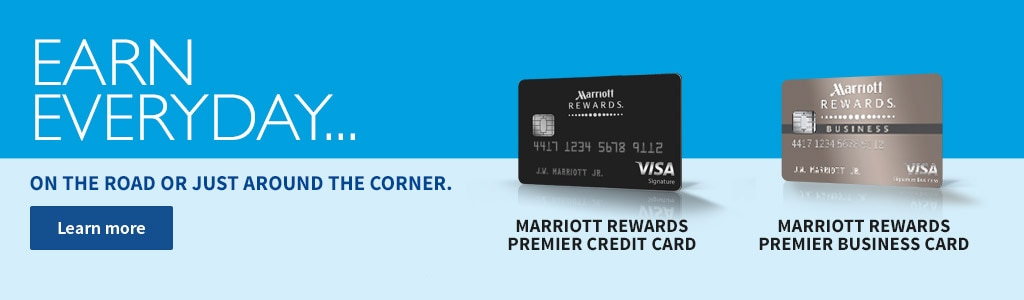 Marriott rewards program earn more points by using the marriott marriott rewards credit card reheart Image collections