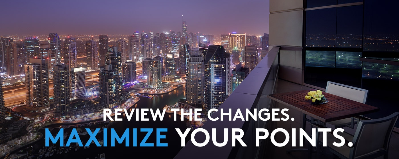 Review the changes. Maximize your points.