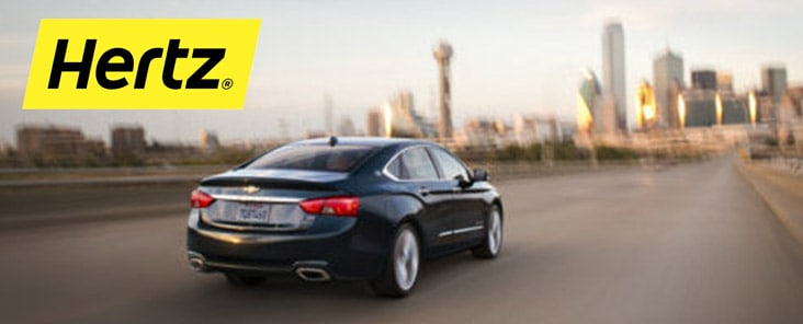 Save 35% on Hertz + earn up to 5,000 bonus points
