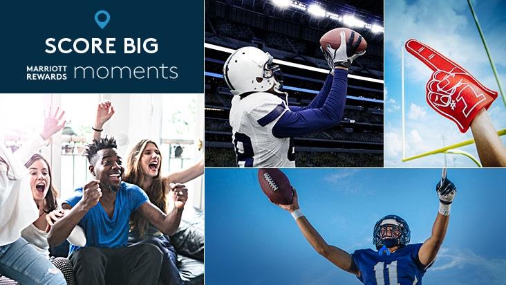 Score big. Marriott Rewards Moments.
