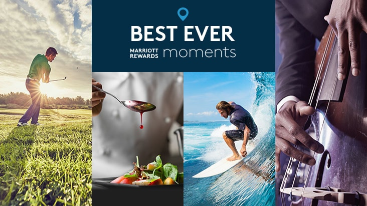 Best ever Marriott Rewards Moments