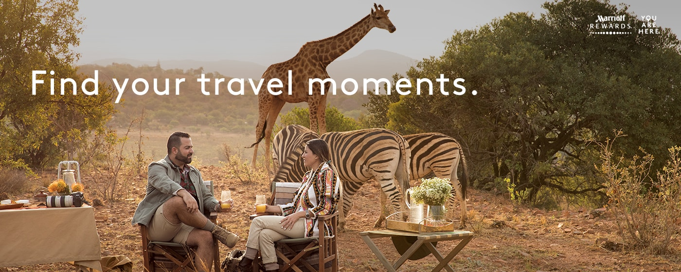 Toli K., Rewards Member, on safari while staying at the Protea Hotel by Marriott, Kruger Gate, ZA