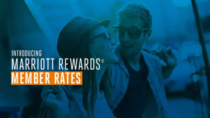 Introducing Marriott Rewards Member Rates