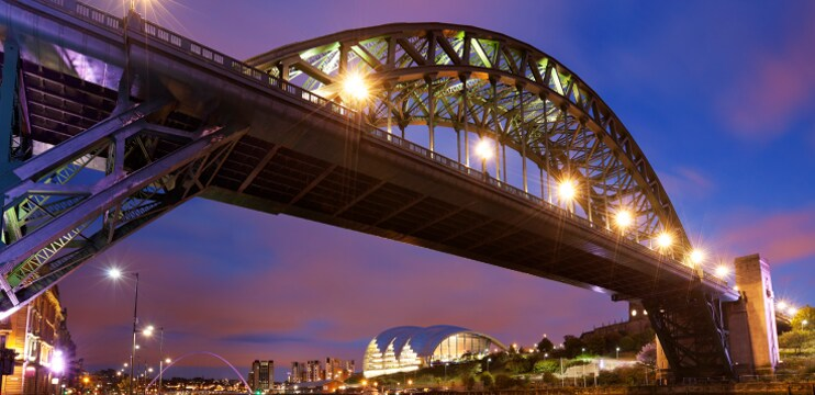 North East of England offer page