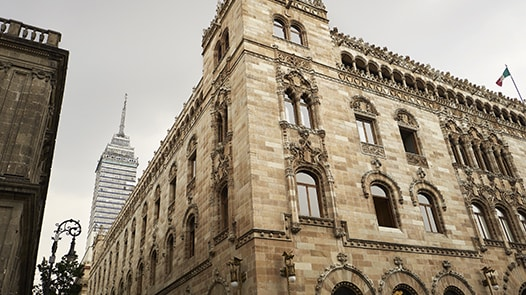 Mexico City's historic architecture