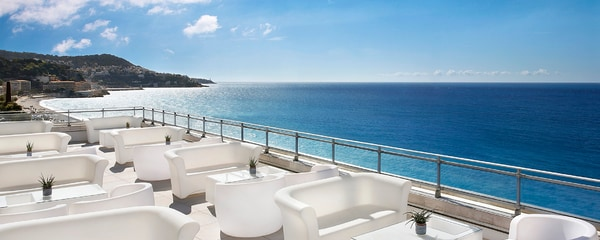 Terrasse with sea view, Le Meridien Nice