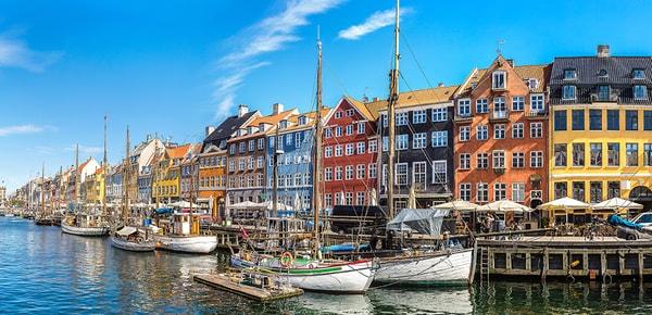 Quartier de Nyhavn à Copenhague, Danemark