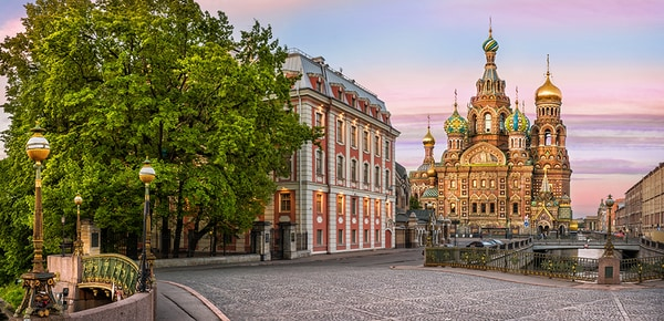 Cathedral of the Savior on Spilled Blood in St Petersburg, Russia