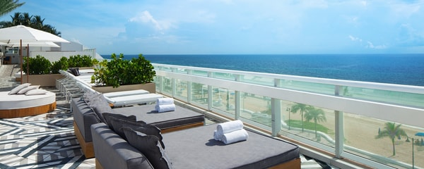 W Fort Launderdale oceanfront