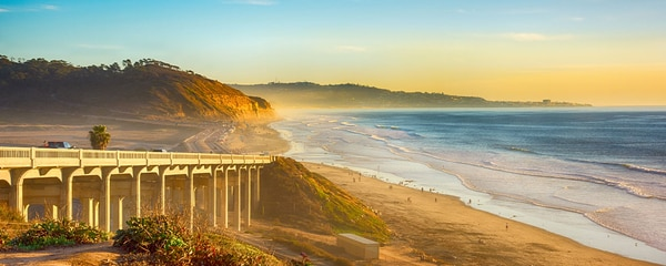Pacific Coast Highway Del Mar California