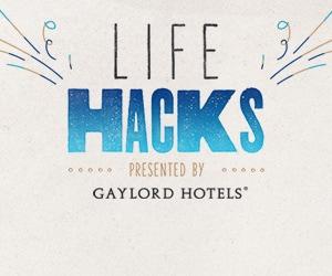 Gaylord Hotels Life Hacks logo