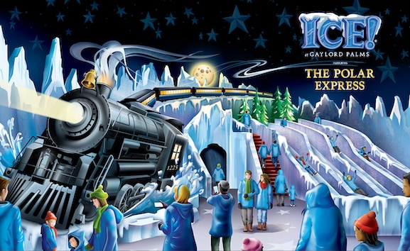 ICE! at Gaylord Palms featuring The Polar Express