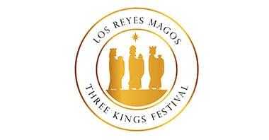 Los Reyes Magos Three Kings Festival logo