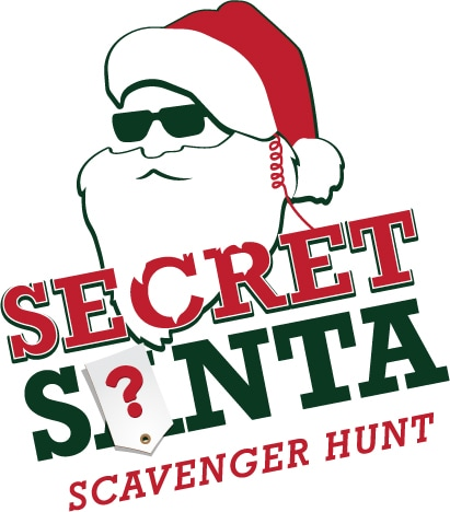 Secret Santa scavenger hunt