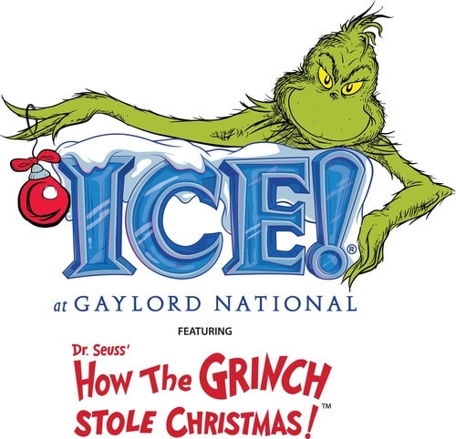 ICE! at Gaylord National featuring How the Grinch stole Christmas