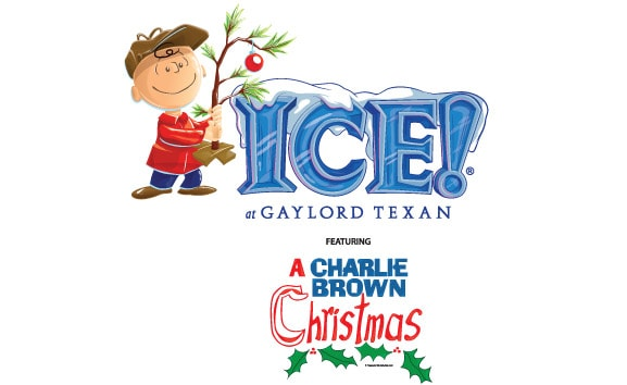 ICE! at Gaylord Texan featuring A Charlie Brown Christmas