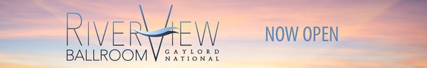 Gaylord National RIverView Ballroom logo banner