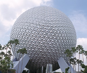 Epcot near Gaylord Palms