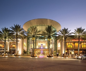Mall at Millenia near Gaylord Palms