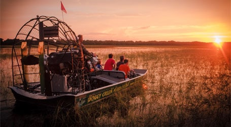Boggy Creek Airboat Rides near Gaylord Palms