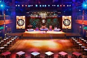stage and seating area at the Wildhorse Saloon