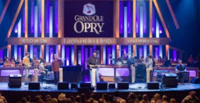 stage at the Grand Ole Opry