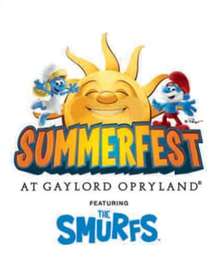 SummerFest at Gaylord Opryland featuring The Smurfs - May 24 - September 2