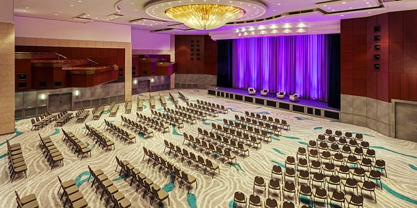 Grand Ballroom Theater at The Westin Grand Munich