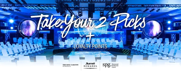 Take your 2 picks + loyalty points
