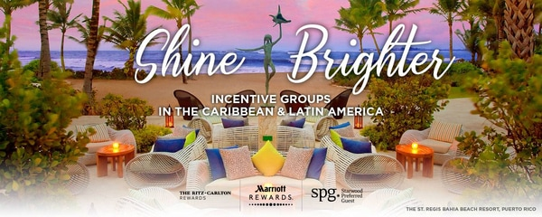 Shine Brighter | Incentive groups in the Caribbean & Latin America